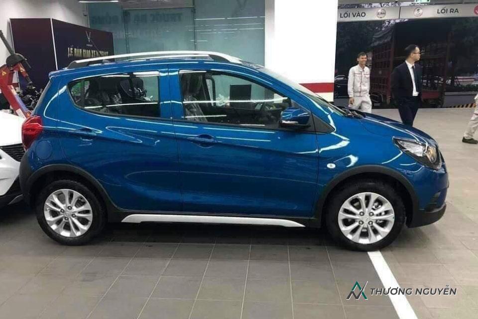 Xe VinFast Fadil màu xanh biển