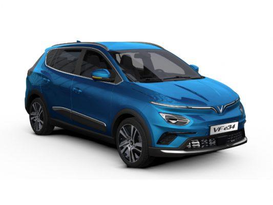 giá xe ô tô điện vinfast vf e34