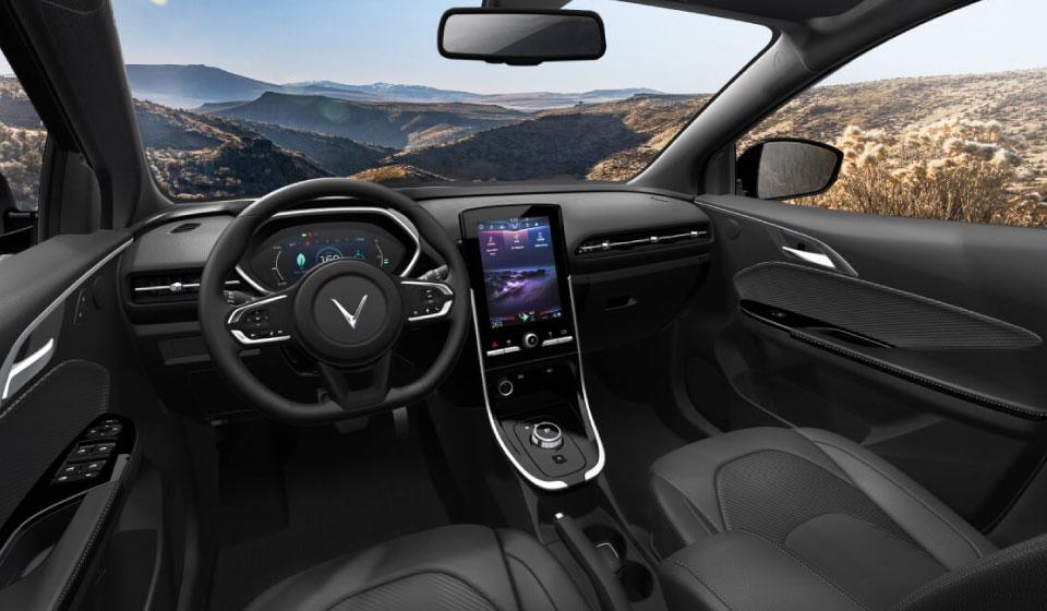 Nội thất ô tô điện VinFast VF e34